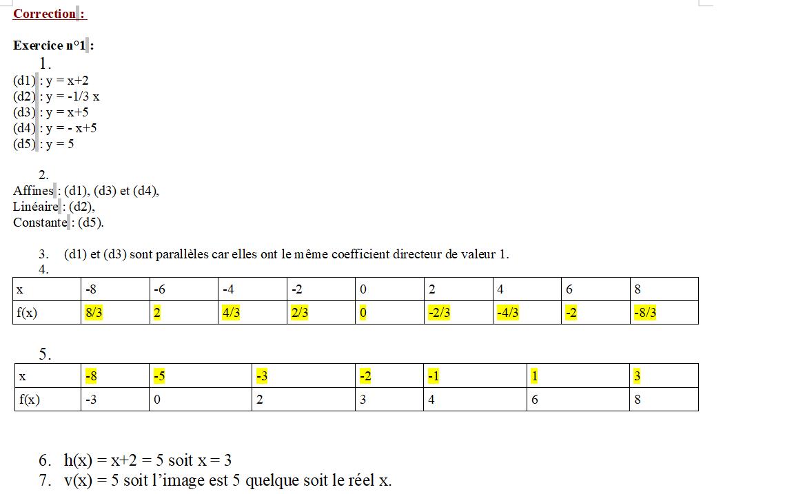 Image correction affine 1
